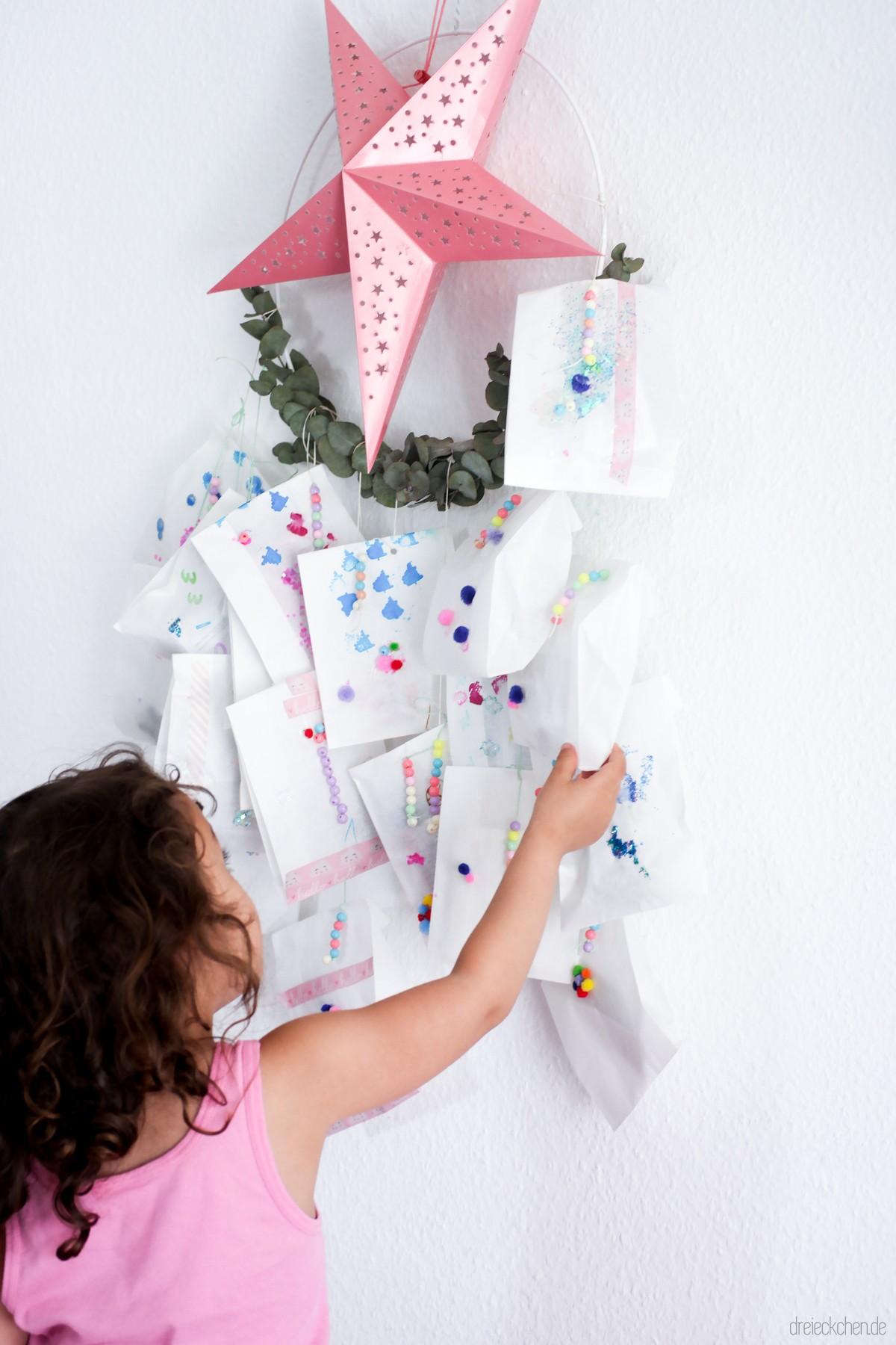 Adventskalender für Kinder Idee