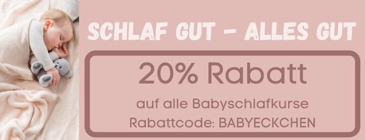 20% Rabattcode für den Babyschlafkurs der Babyschlafschule